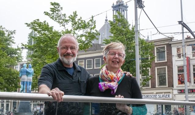 Joe en Louise Boin bezochten ons land voor het eerst in 1974 (Foto: Michel Groen).