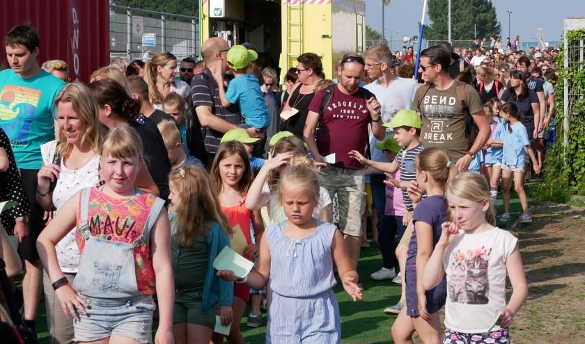 Ruim 2.000 deelnemers doen jaarlijks mee aan de Avondvierdaagse in Oosterhout