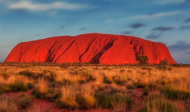 Uluru maakt een belangrijk onderdeel uit van de Soul Journey. Dit is waar voor Henrike de roep vandaan komt, van de rode aarde, de rode rots.