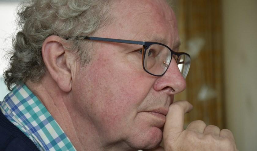 Paul Freriks van de politieke partij Sociaal Zevenaar zet een punt achter zijn politieke carrière. (foto: Ab Hendriks)
