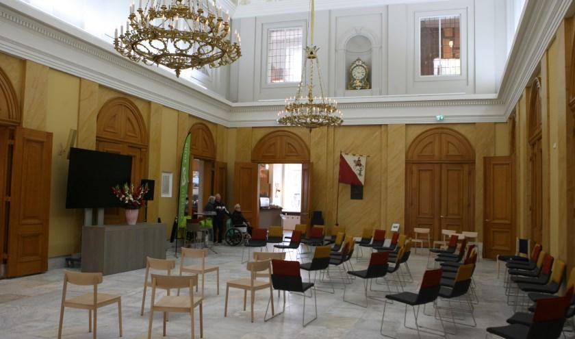 Het stadhuis van Utrecht is na een verbouwing weer helemaal bij de tijd. Foto: Johan Morgenstond