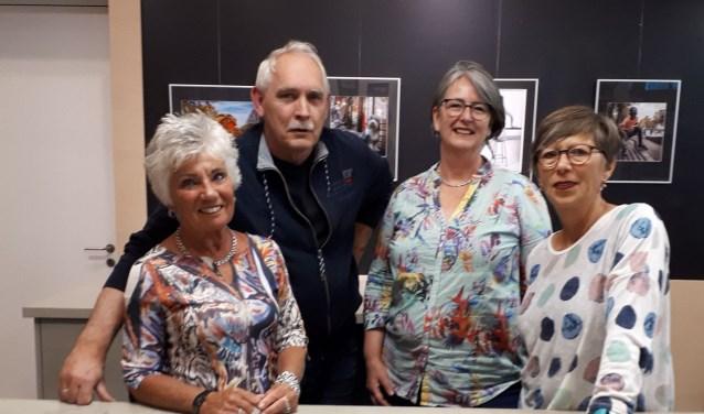 Van links naar rechts: Gemma Ultee, Martin Kolkman, Enid Felix-van Dijl en Karen Noordenbos
