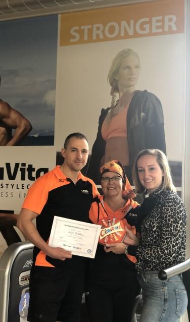 Jasper Budding van LaVita Lifestyleclub Veenendaal is geslaagd voor de cursus 'Oncologisch Fitness Trainer'.