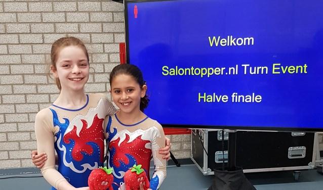 1/2 finale turnen:Feline en Renna waren erbij