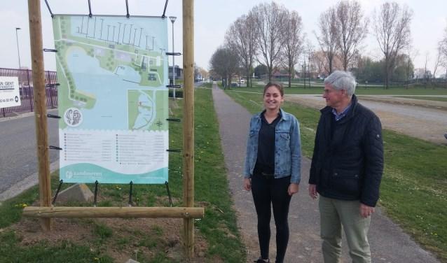 Dirkje de Leeuw en Kees de Jong zetten samen met de ondernemers en de gemeente Maasdriel De Zandmeren in Kerkdriel weer op de kaart.