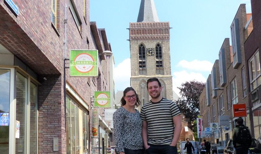 Marlies en Bjorn van Veelen vertrekken in juni voor zendingswerk naar Indonesie. (Foto: Diana Kervel)
