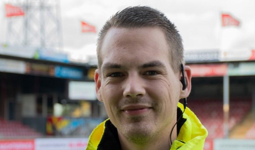 Mark Meijborg: 'Je doet als steward iets terug. Niet alleen voor de club, maar voor heel Deventer.'