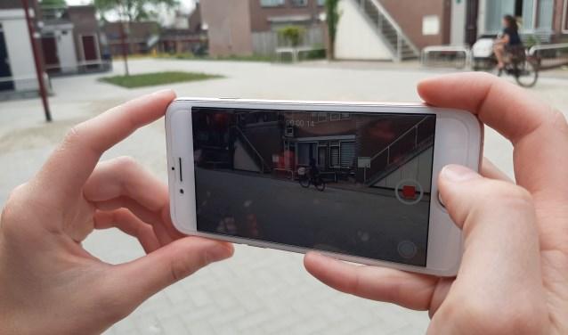 Filmen met je Smartphone de leukste filmpjes in Nieuwegein.