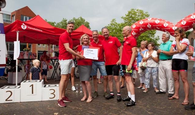 De editie in 2018 leverde 3000 euro op voor onderzoek naar hartfalen door de Hartstichting.