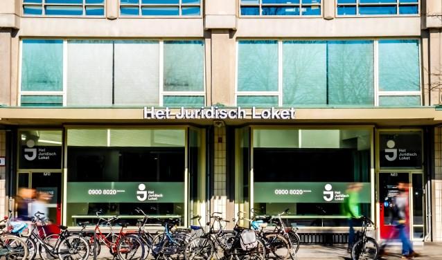 Het juridisch loket in Rotterdam.