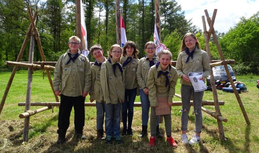 Scouts van Scouting Saksenheerd