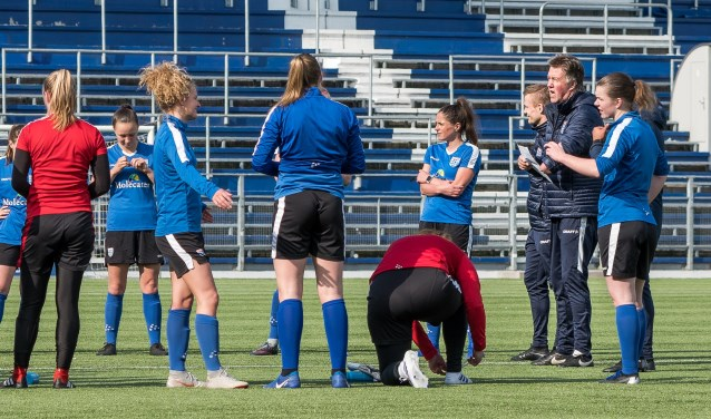Wim van der Wal heeft zijn ploeg optimaal voorbereid op de bekerfinale van zaterdagavond tegen Ajax. Foto: Raymond Smit.