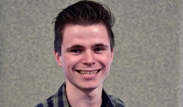 Jerald is Student van het Jaar omdat hij 'organisatorisch dingen voor elkaar krijgt wat een ander niet zou kunnen', aldus de jury.