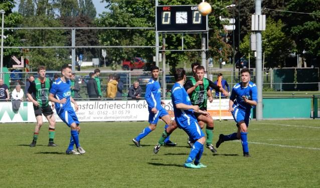 SV Capelle heeft zaterdag op bezoek bij RFC met 1-3 gewonnen. Foto: MW fotografie