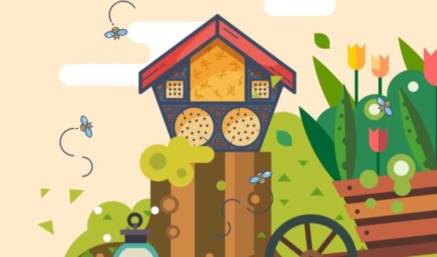 Eén insectenhotel kan al snel honderden beestjes huisvesten, die vervolgens op hun beurt weer duizenden planten bestuiven.