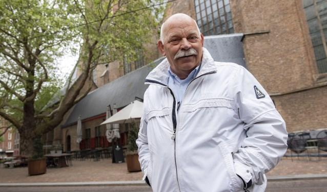Caro is een oud-bewoner van onze stad en is geboren in de Perponcherstraat. (Foto: Michel Groen)