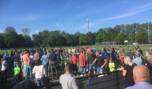 Sportpark Bergenshuizen in Vught, de thuishaven van voetbalclub Real Lunet.