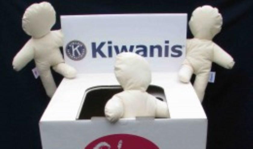 Kiwanis leden blijven actief met het werven van fondsen voor goede doelen vooral gericht op kinderen.