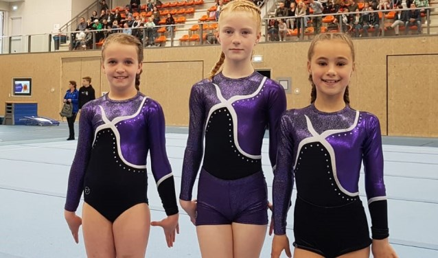 Irene, Tess en Jade bij hun regiofinale