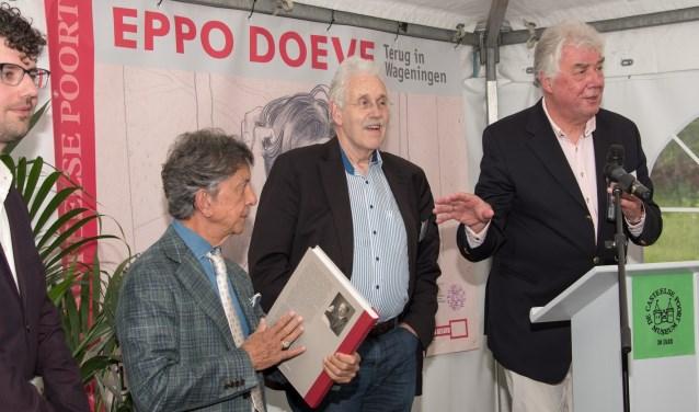 Frans Leidelmeijer, Jelle Vervloet (MCP) en Jacques van der Weiden (MCP) (foto: Hans Holleman)