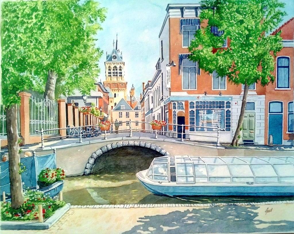 Boterbrug view from Oude Delft Foto: Antonio Teodosio © Persgroep