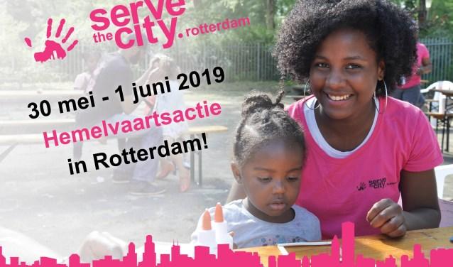 In allerlei wijken in de stad worden rond Hemelvaart door lokale kerken sociale en praktische acties georganiseerd voor de wijk.