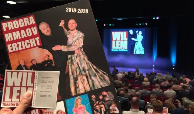 Het programmaoverzicht van Theater De Willem in Papendrecht is uitgegeven (foto: Nanda van Heteren)
