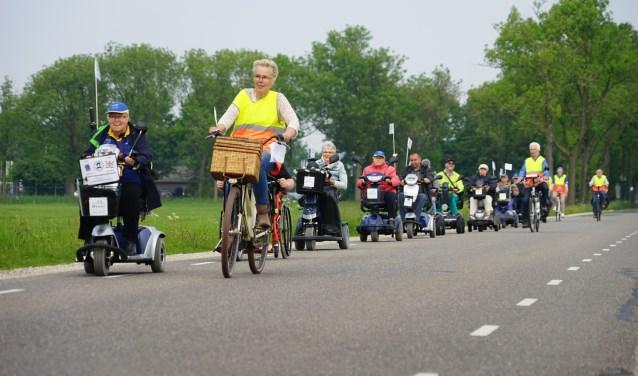 Onderweg naar de Bisschop Davidsgrift