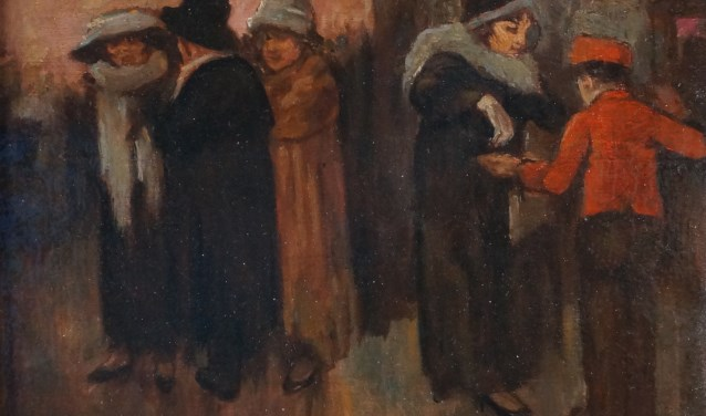 Piet van der Hem: bij de schouwburg