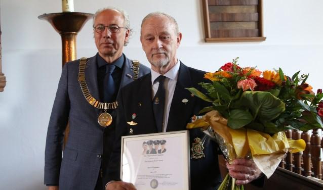 De prestigieuze Legion of Honor Award is  aan de heer Marcel Koopmans uitgereikt. Foto: Alex de Kuijper