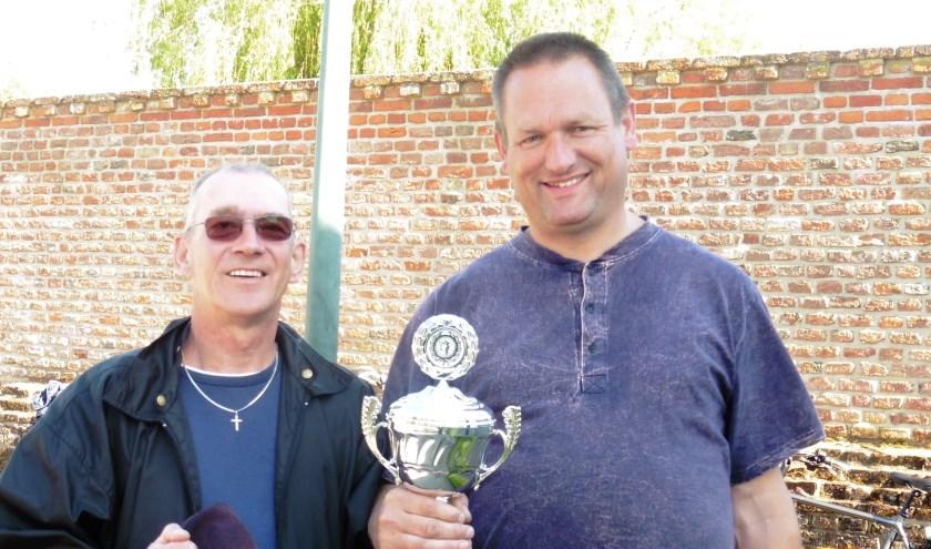 Ben Kort en Harm-Jan Halfwerk wisten nipt ook de laatste partij te winnen (11-10) en daarmee clubkampioen doublette 2019 te worden.