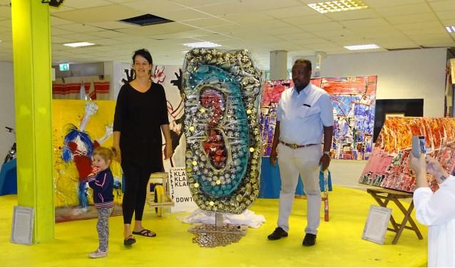 Het kunstwerk OOR is in de week van 6 tot en met 13 juni in het Van Abbemuseum te bewonderen tijdens de expositie Inside Out.