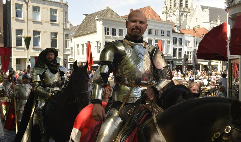 Tijdens de Nassaudag én de Dag van het Kasteel op tweede pinksterdag (maandag 10 juni) herleven in de binnenstad op onder meer het Kasteel van Breda en op het landgoed Bouvigne in het Mastbos oude tijden.