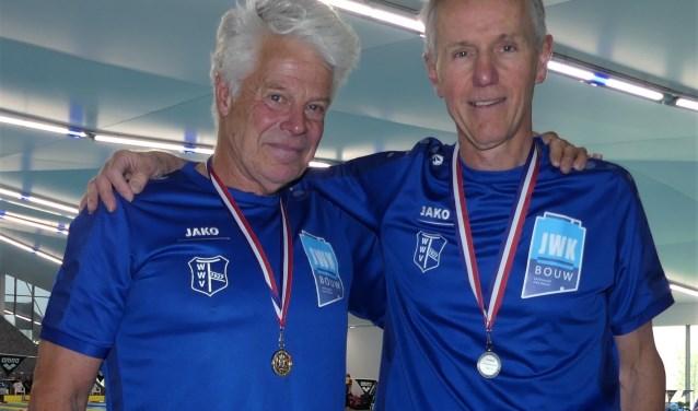 Ruud Ruiter (rechts, Borculo) en Theo Schouten (Rietmolen) waren goed op dreef.