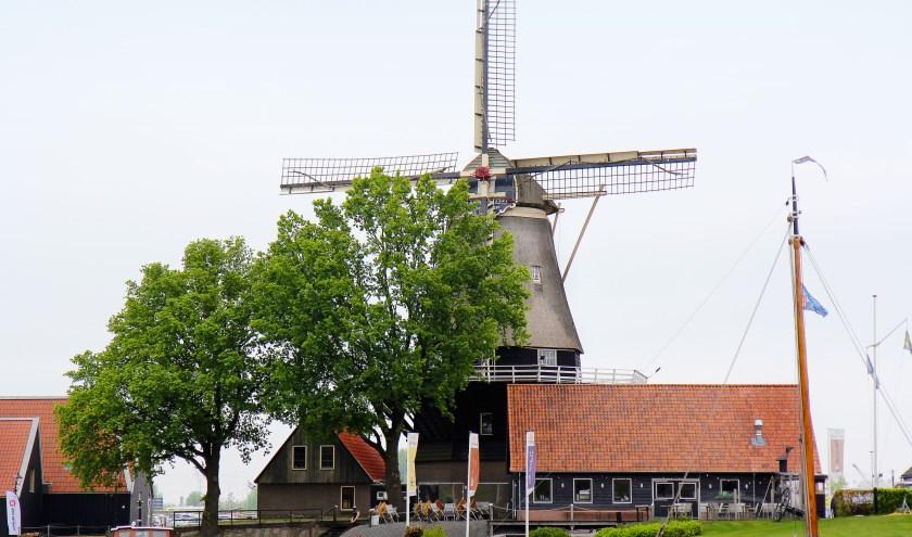 Bij molen De Hoop is op de Nationale Molen-Gemalendag genoeg te zien en te doen.  Foto: Ton Tuinman, Harderwijkse Molen Stichting.