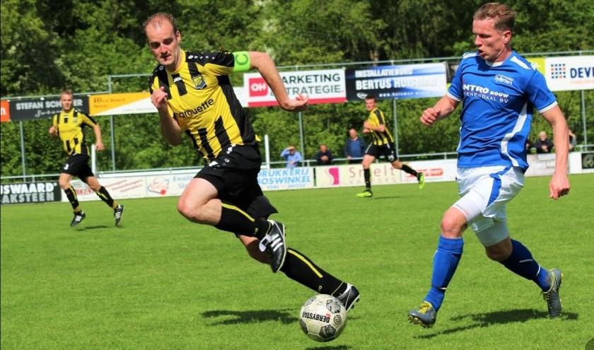 DOS speelde 1-1 tegen De Merino's. Foto: Jeroen Tempert