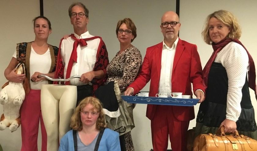 De theatervoorstelling Happen uit Liefde wordt gespeeld op 17, 18 en 19 mei in Breukelen. Eigen foto