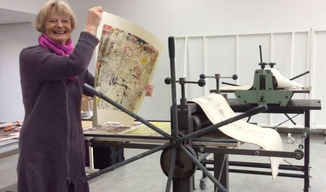 De expositie 'Monotypes en etsen' van Anneke Jonckers wordt aanstaande vrijdag om 17.30 uur feestelijk geopend.