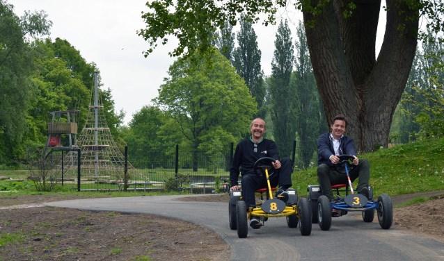 Ton en Alwin zijn blij met alle verbeteringen op playground Thialf