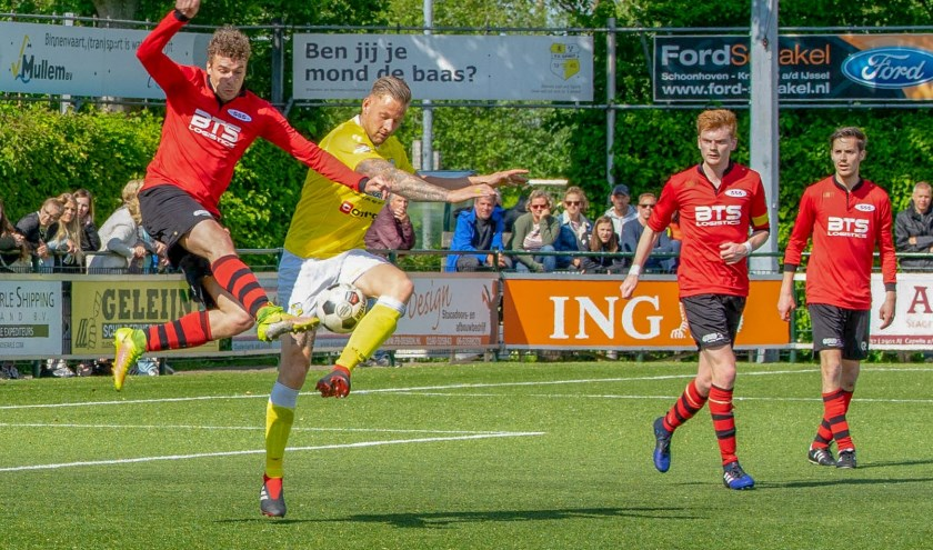 Mick Veldhoen speelde vandaag zijn laatste wedstrijd in het Spirit shirt