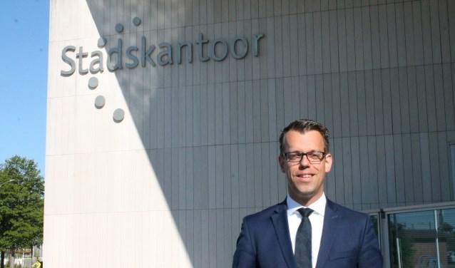 """Derk Alssema:""""Nieuwe bedrijven, nieuwe werkgelegenheid, het is een uitdaging in arbeidskrachten om alles ingevuld te krijgen. FOTO: Leon Janssens"""