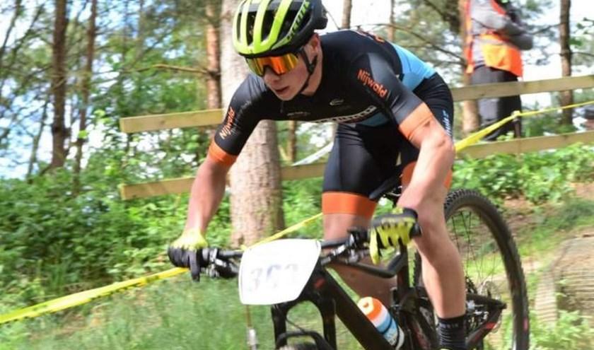 Het Zwiep Fietsen Nijwald offroad team heeft prima prestaties geleverd op Het Hulsbeek. Foto: Kees Sinke