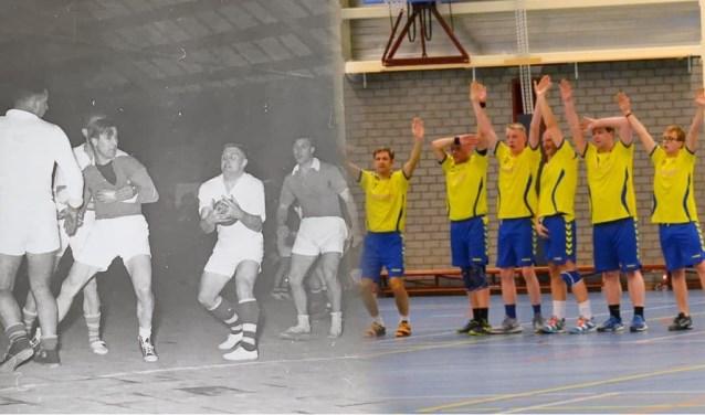 De Winterswijkse handbalvereniging WWV houdt allerlei feestelijke activiteiten op vrijdag 24 en zaterdag 25 mei. (Compilatiefoto)