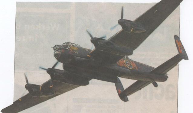 Een Engels vliegtuig uit de Tweede Wereldoorlog.