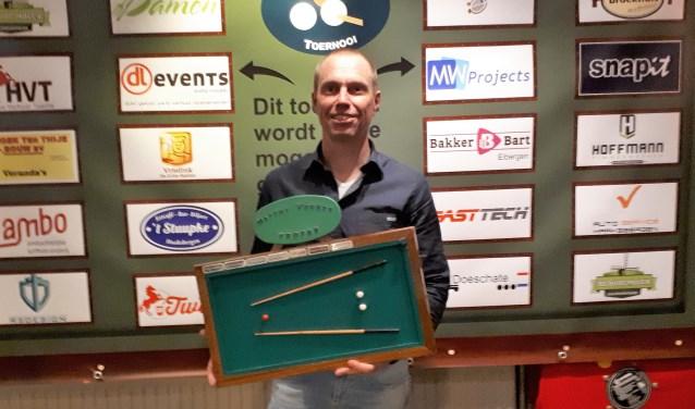 Na vele tweede en derde plaatsen was er dit jaar eindelijk de hoofdprijs voor René ten Asbroek.