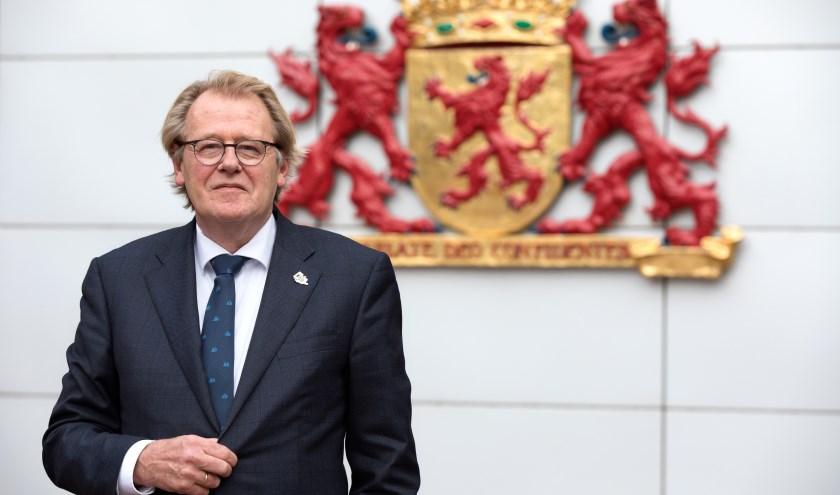 Jaap Smit is Commissaris van de Koning in Zuid-Holland. (Foto: Dirk Hol / Provincie Zuid-Holland)