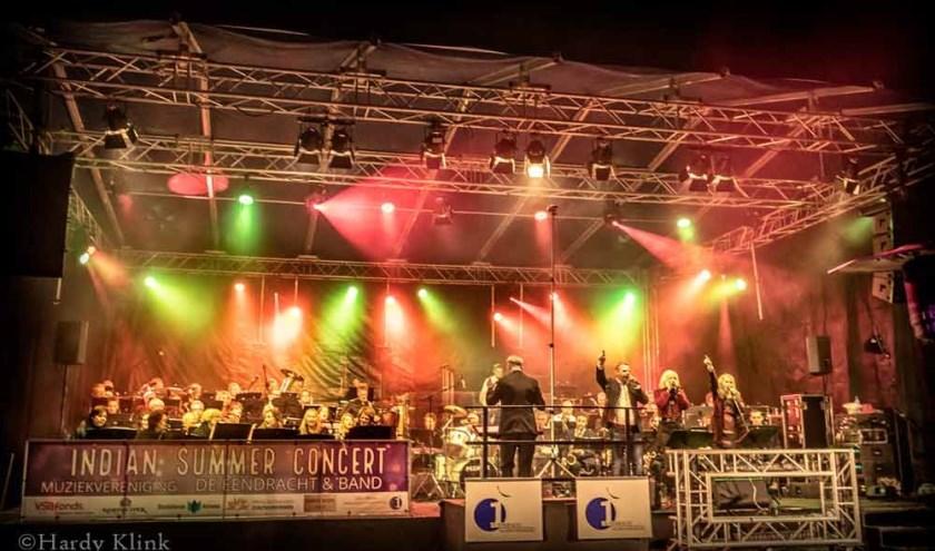Een fantastisch feest van muziekvereniging de Eendracht