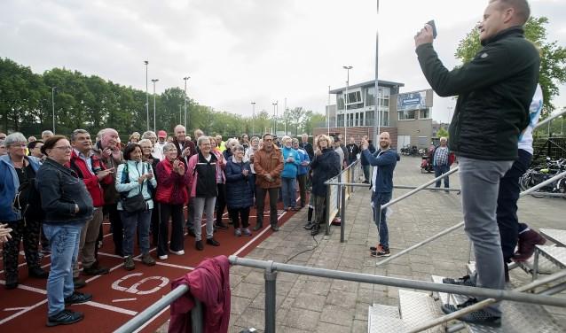 Op 1 mei gaf John van den Hoven, wethouder Sport & Cultuur van gemeente Waalwijk, het officiële startschot voor de Nationale Diabetes Challenge Waalwijk. Iedere woensdag wandelen de deelnemers voor een betere gezondheid.