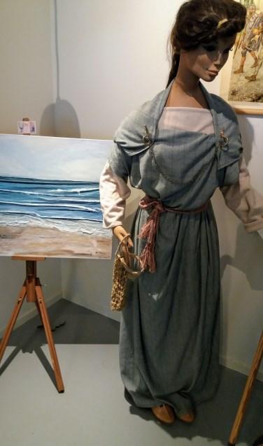 schilderij zee van A.J. van Lienden