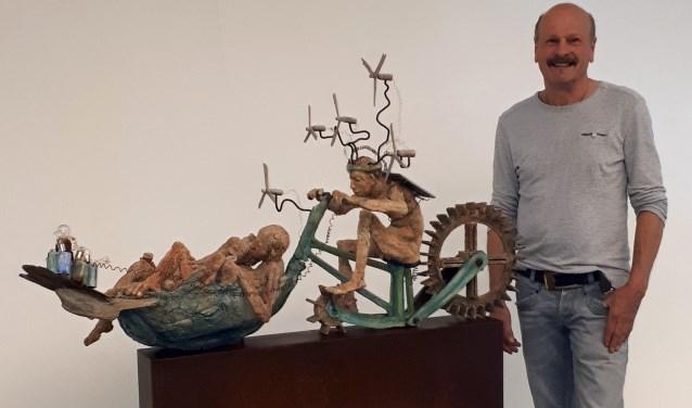 Het kunstwerk 'Duurzaam' van André te Dorsthorst wordt drie maanden tentoongesteld tijdens de ZomerExpo 2019.